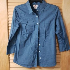 Blue J.Crew button up